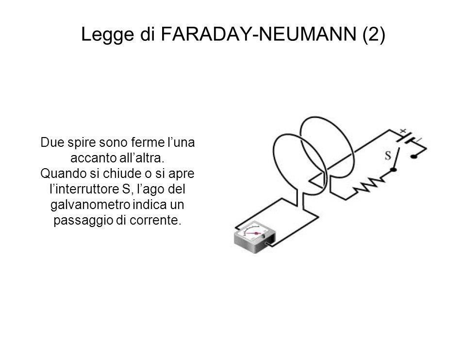 Legge di FARADAY-NEUMANN (2)
