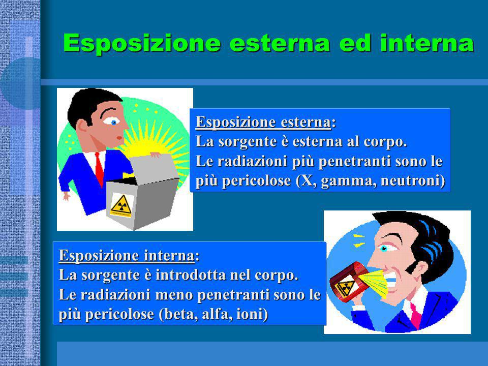 Esposizione esterna ed interna