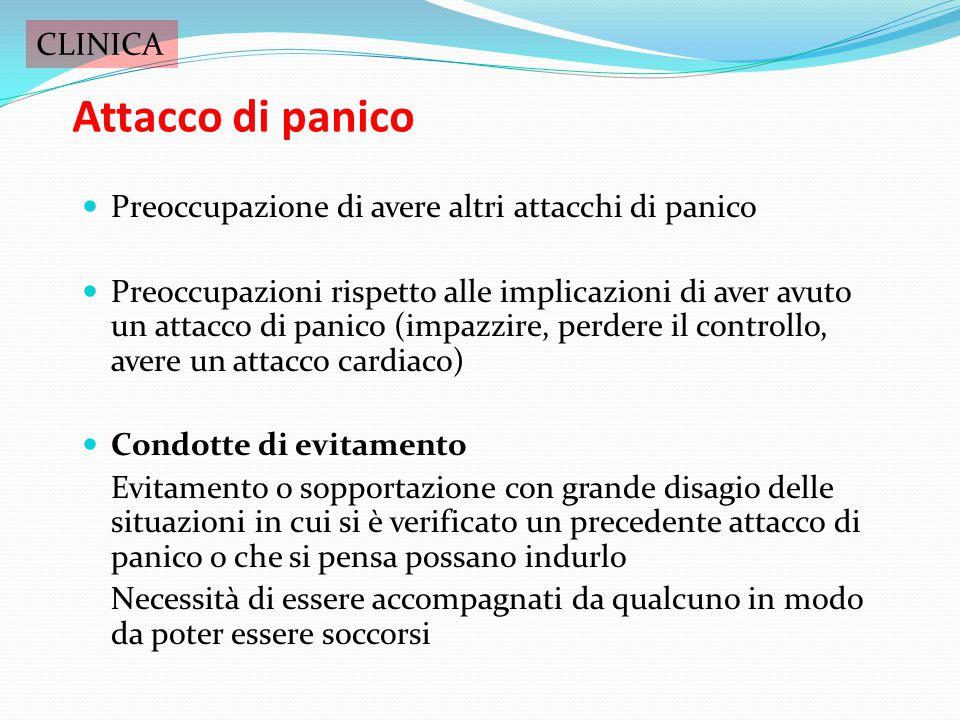 Attacco di panico CLINICA