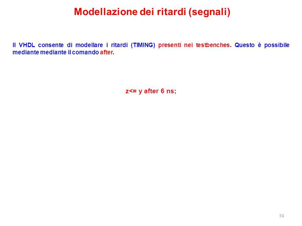 Modellazione dei ritardi (segnali)