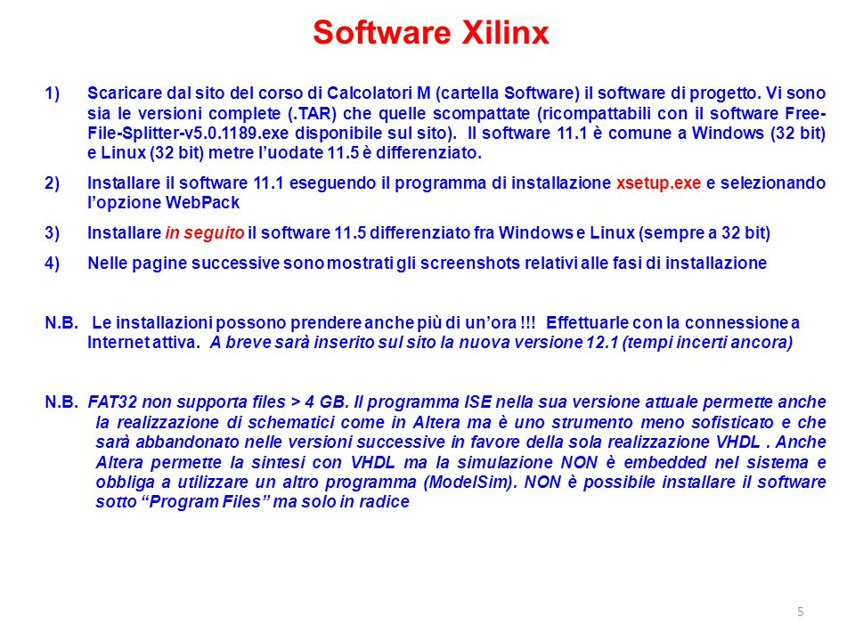 Software Xilinx