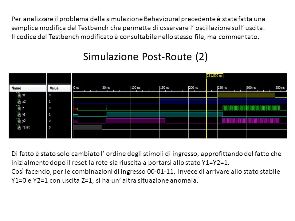 Simulazione Post-Route (2)