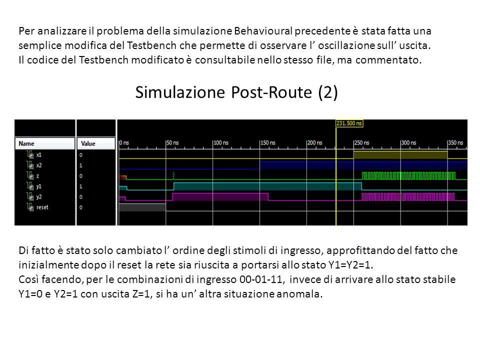 Simulazione Post-Route (2)
