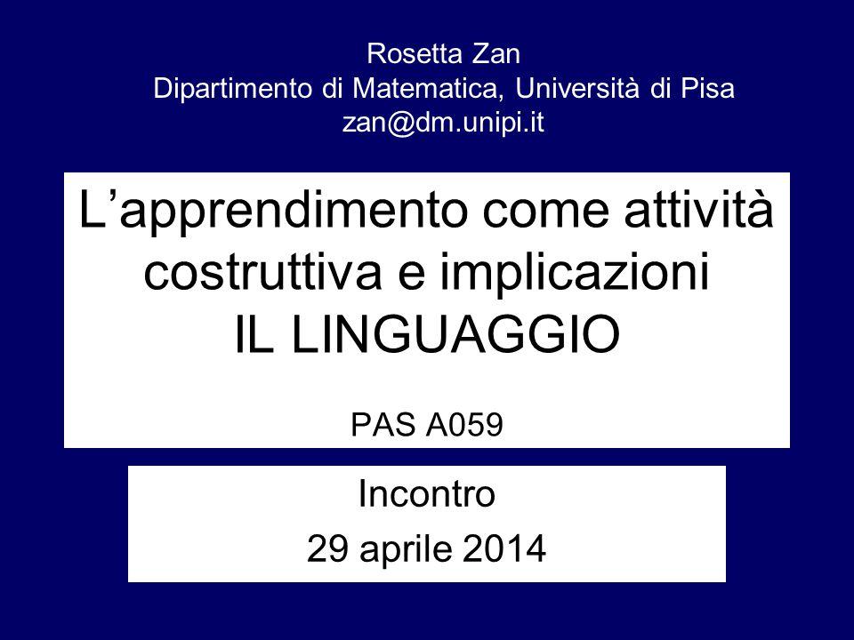 Dipartimento di Matematica, Università di Pisa