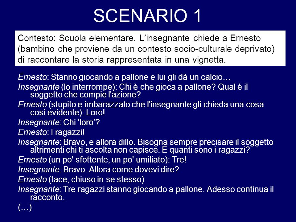 SCENARIO 1