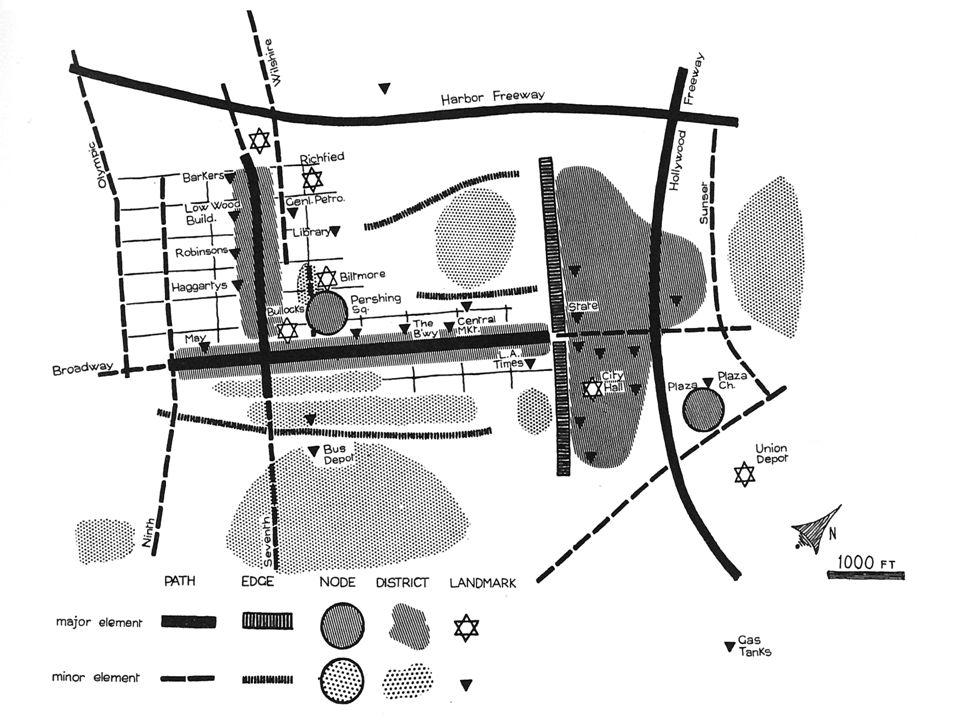 Lynch: la struttura dell'immagine urbana