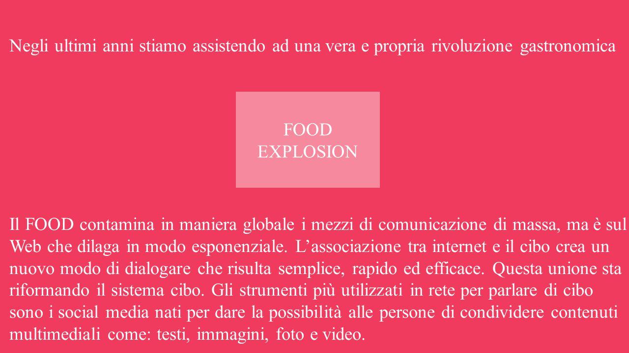 Negli ultimi anni stiamo assistendo ad una vera e propria rivoluzione gastronomica