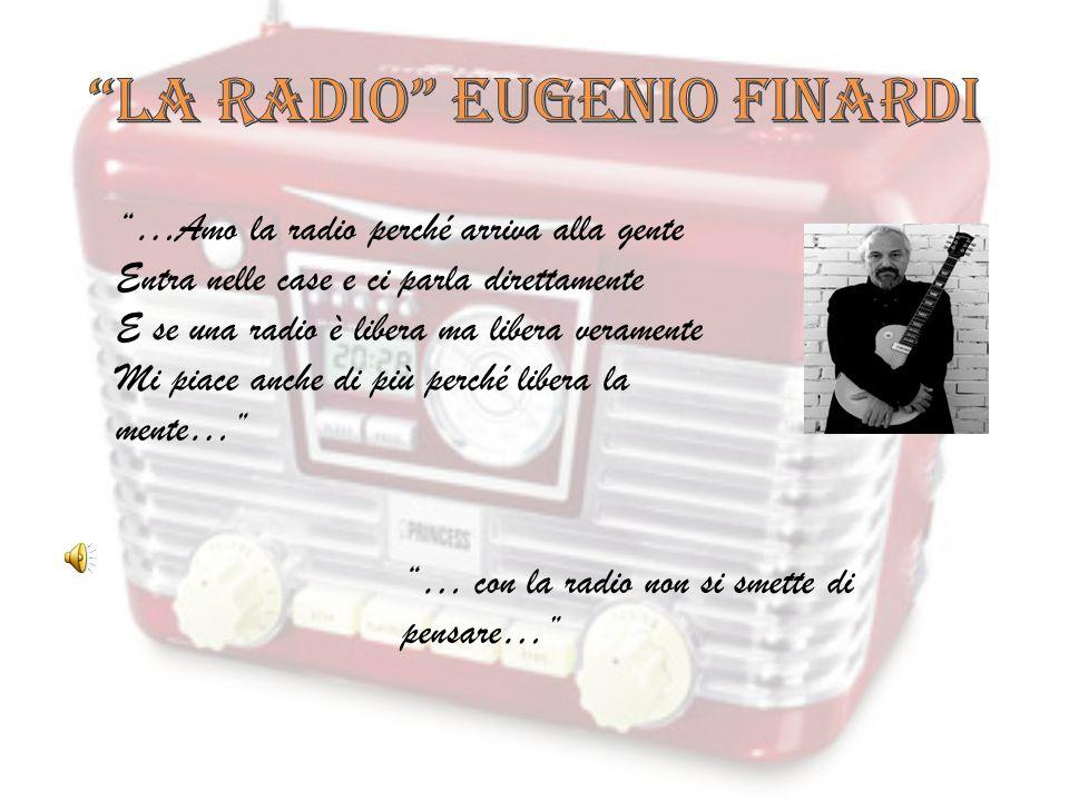 LA RADIO EUGENIO FINARDI