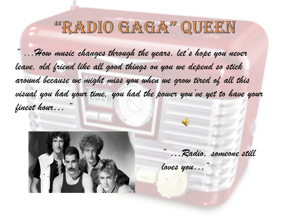 RADIO GAGA QUEEN