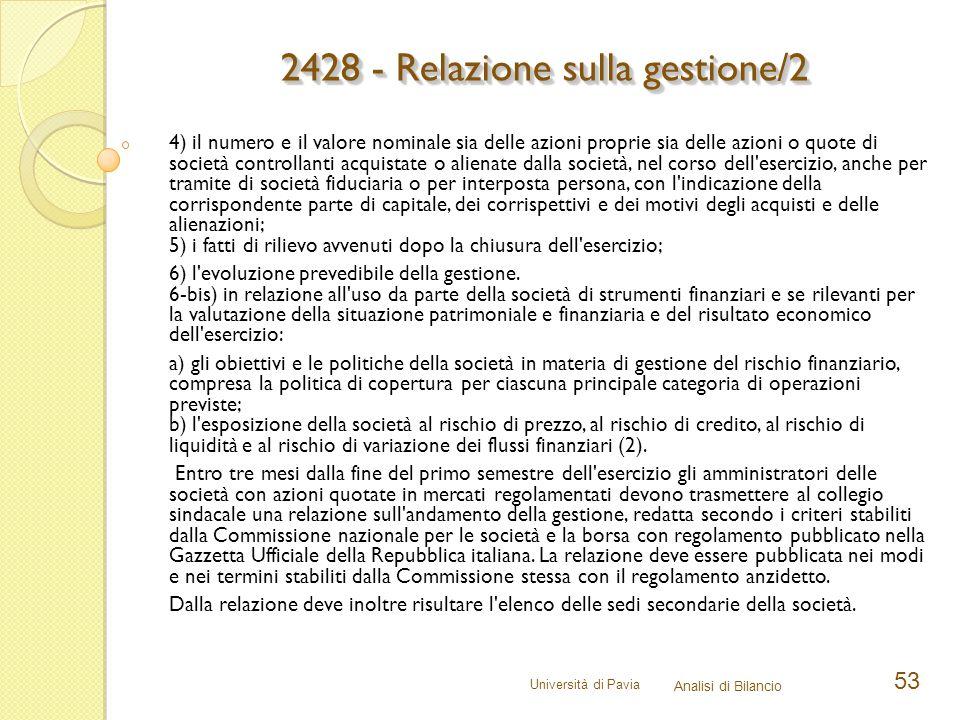 2428 - Relazione sulla gestione/2