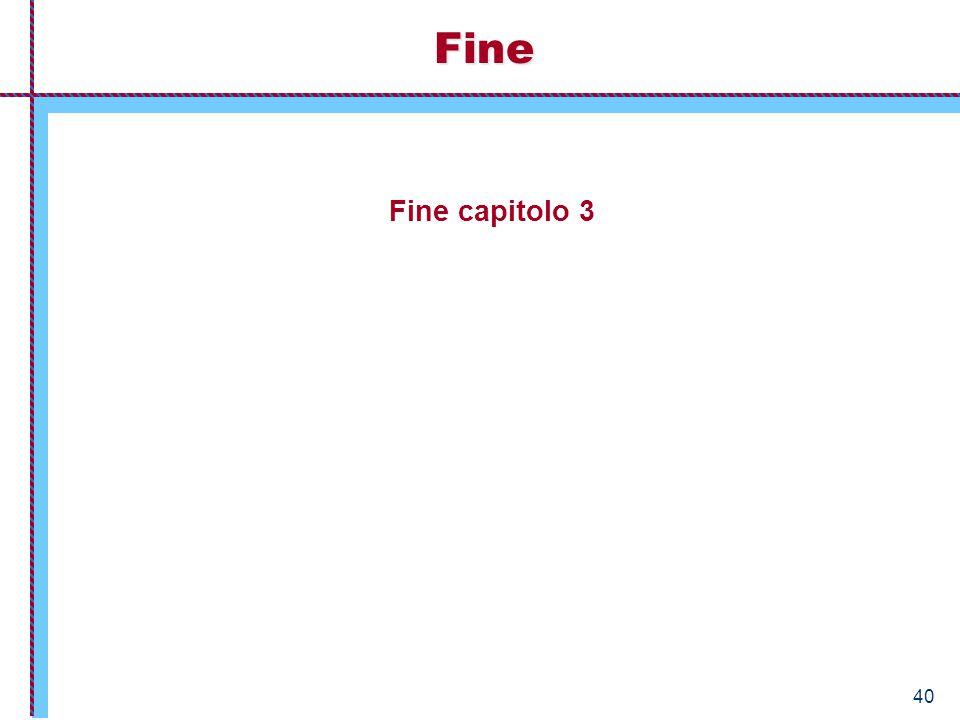 Fine Fine capitolo 3