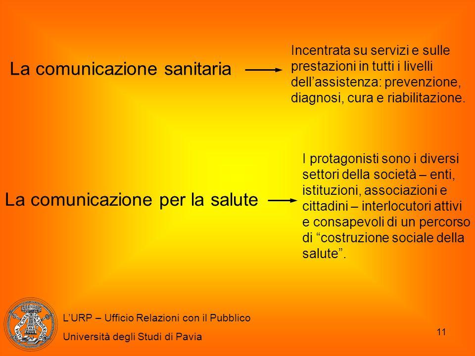 La comunicazione sanitaria