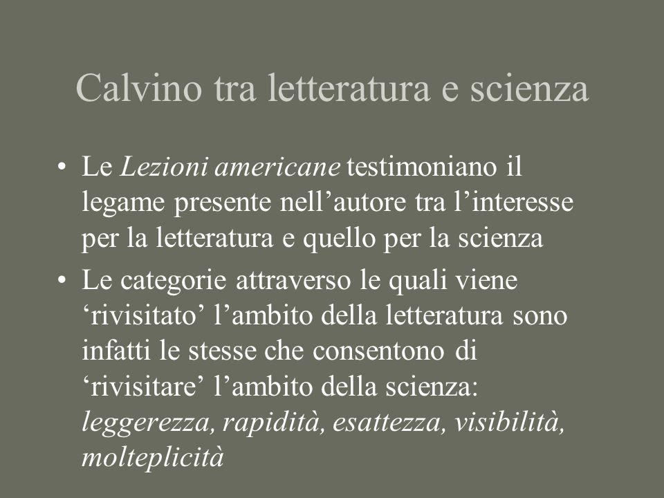 Calvino tra letteratura e scienza