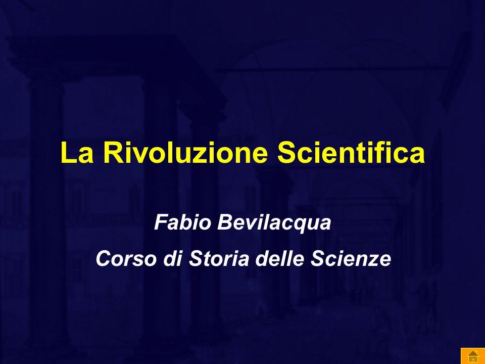 La Rivoluzione Scientifica
