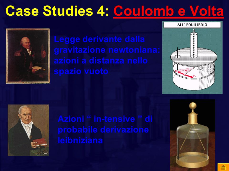 Case Studies 4: Coulomb e Volta
