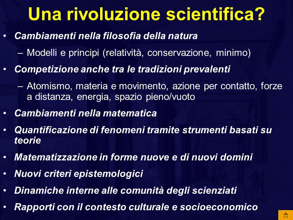 Una rivoluzione scientifica