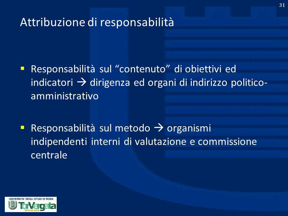 Attribuzione di responsabilità