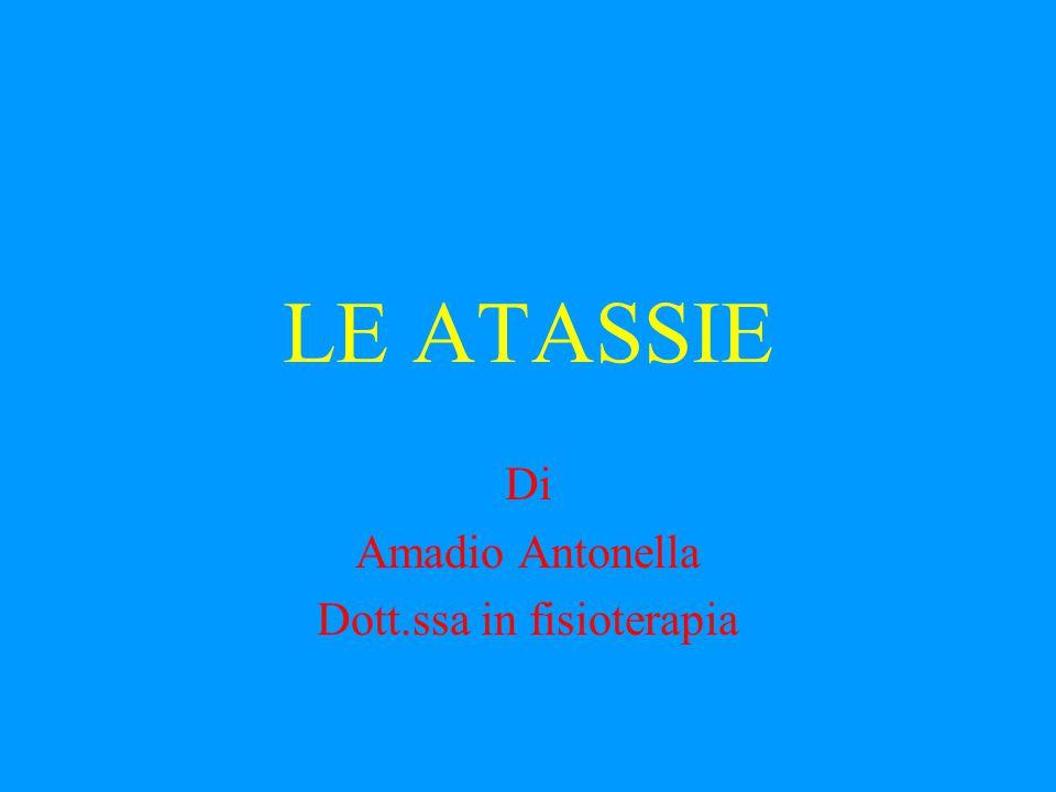 Di Amadio Antonella Dott.ssa in fisioterapia