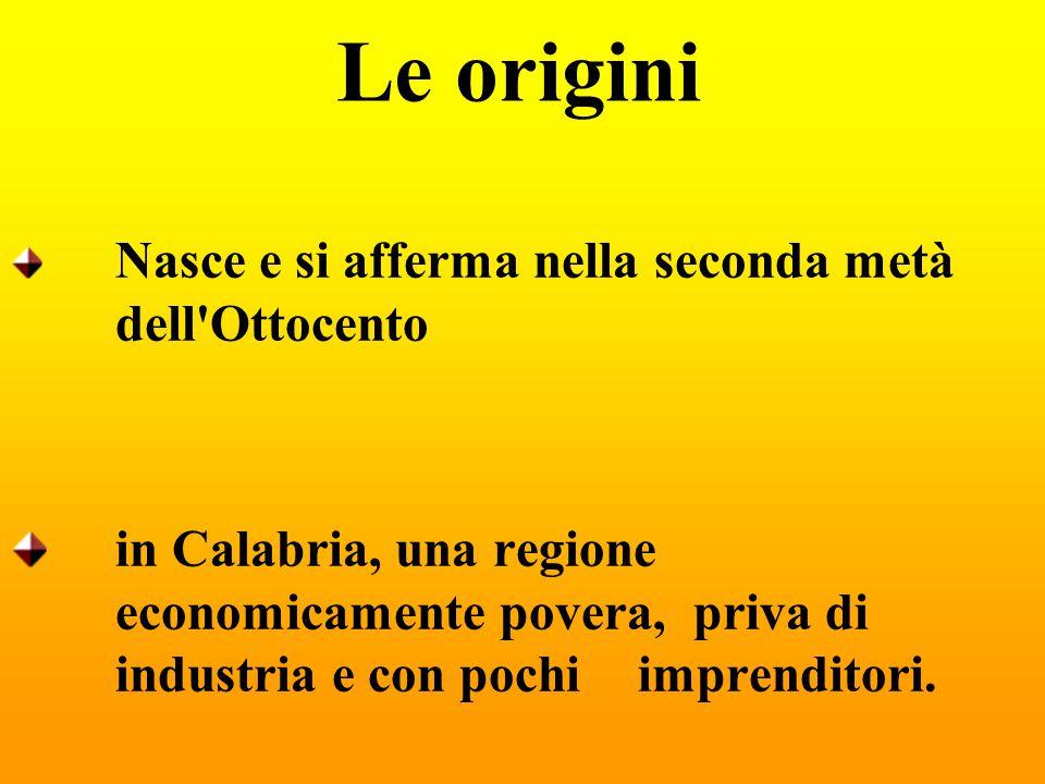 Le origini Nasce e si afferma nella seconda metà dell Ottocento.