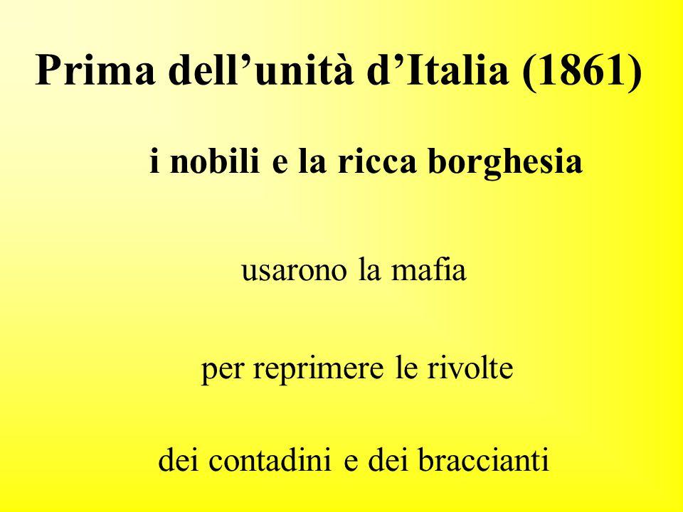 Prima dell'unità d'Italia (1861)