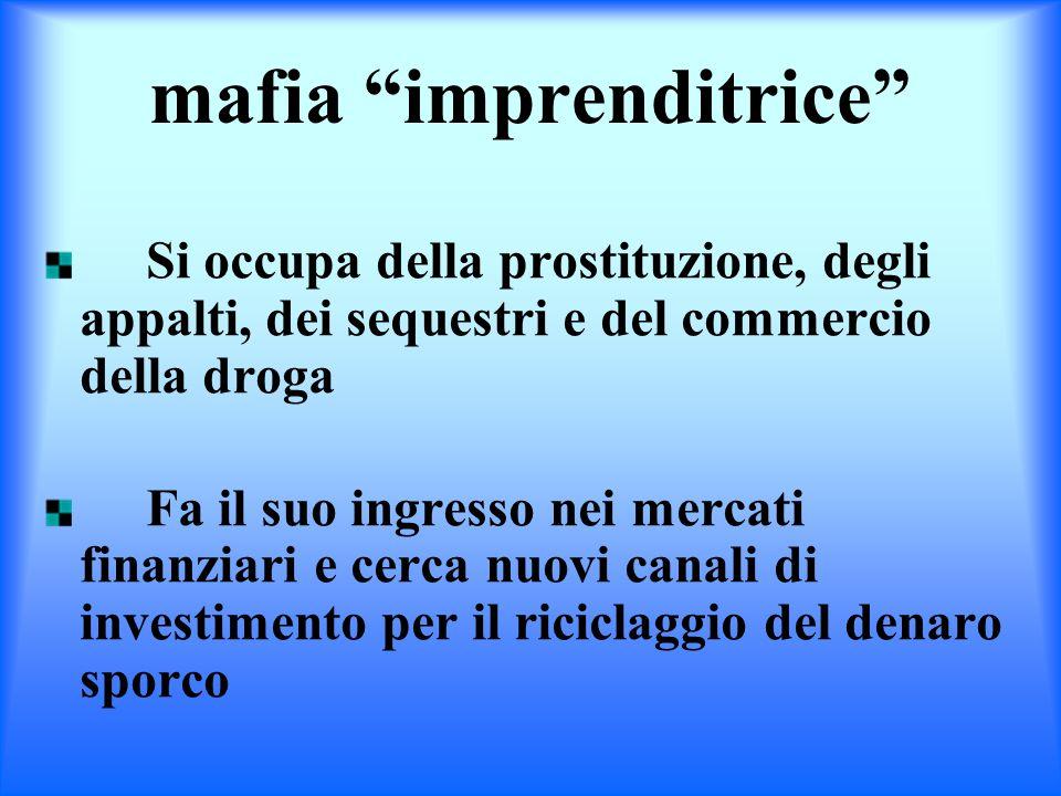 mafia imprenditrice