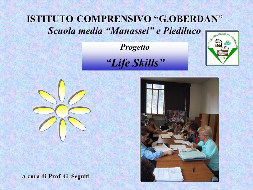 ISTITUTO COMPRENSIVO G.OBERDAN Scuola media Manassei e Piediluco