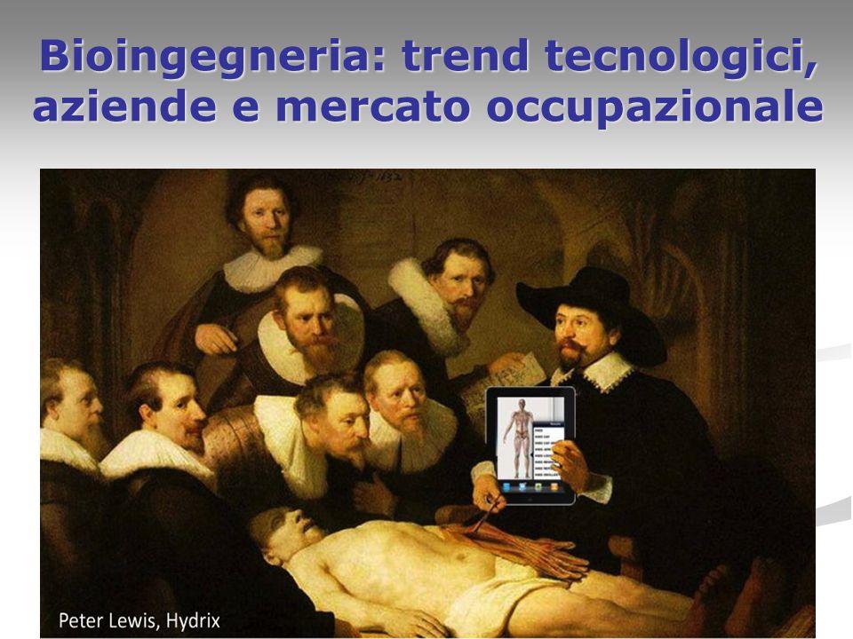 Bioingegneria: trend tecnologici, aziende e mercato occupazionale