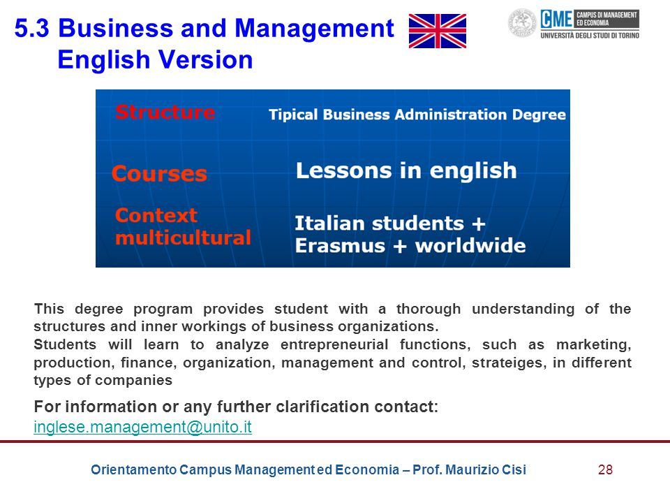 5.3 Business and Management English Version