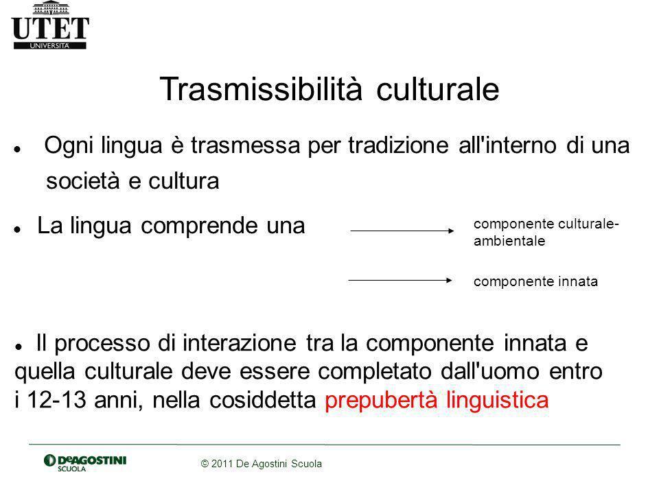 Trasmissibilità culturale