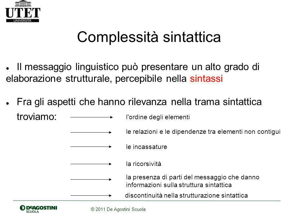 Complessità sintattica