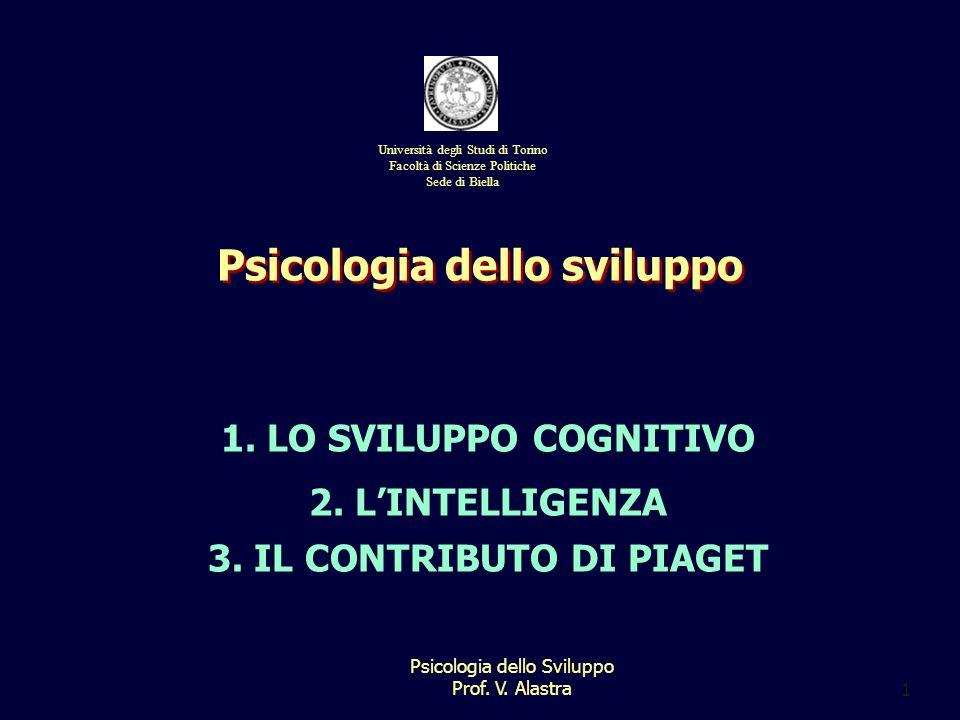 Psicologia dello sviluppo 3. IL CONTRIBUTO DI PIAGET