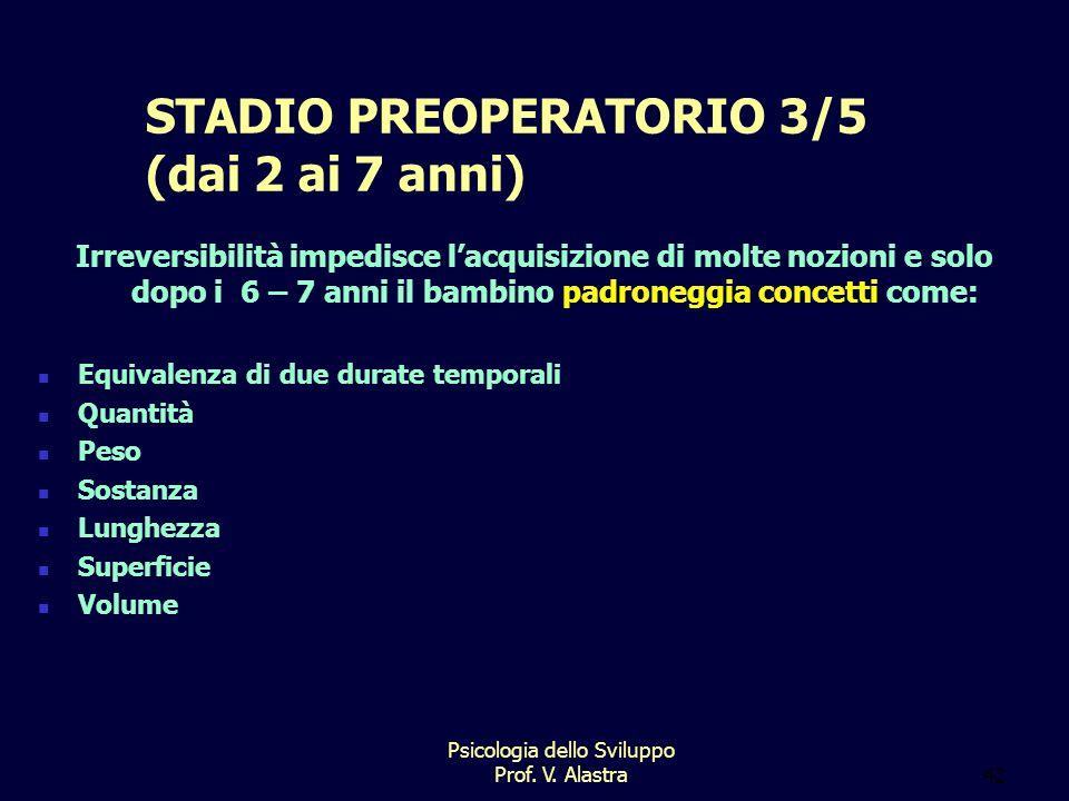 STADIO PREOPERATORIO 3/5 (dai 2 ai 7 anni)