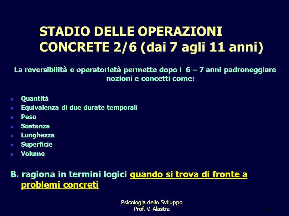 STADIO DELLE OPERAZIONI CONCRETE 2/6 (dai 7 agli 11 anni)