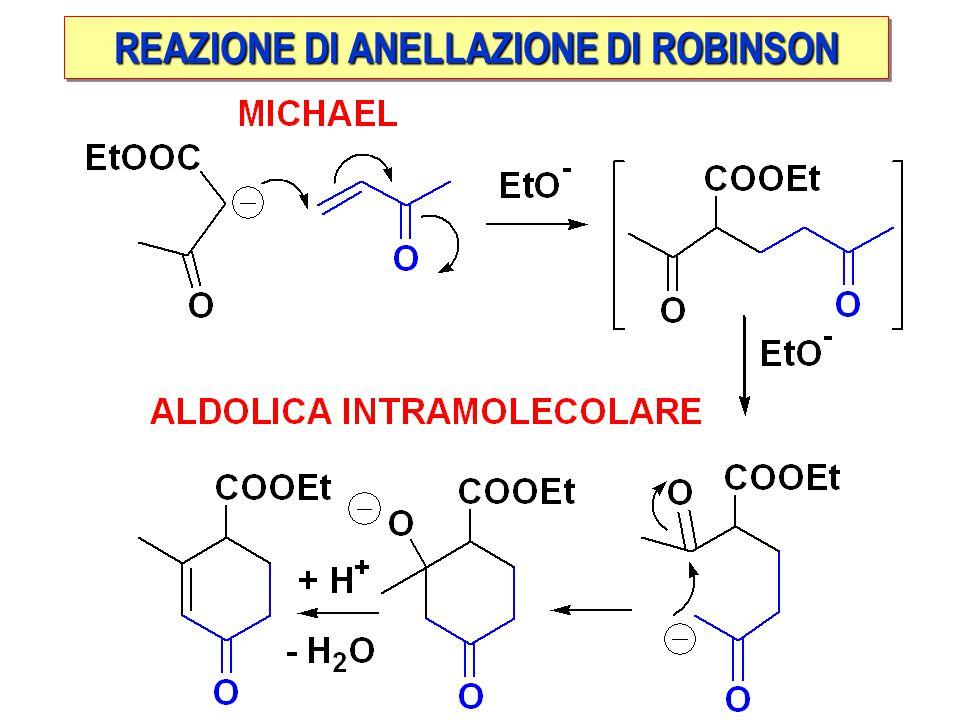 REAZIONE DI ANELLAZIONE DI ROBINSON