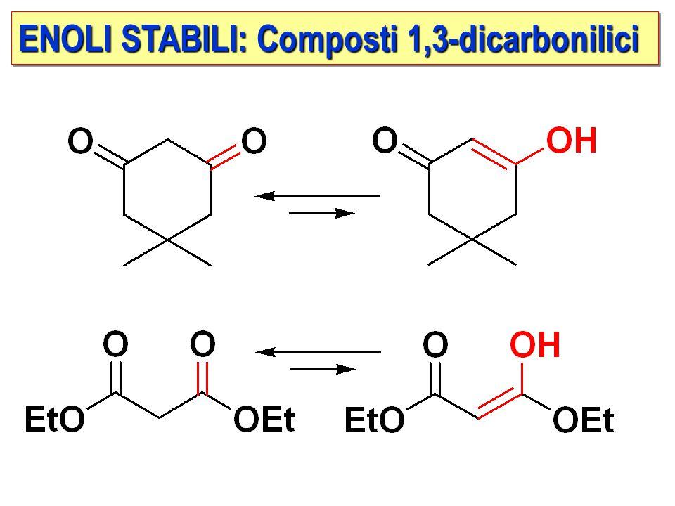 ENOLI STABILI: Composti 1,3-dicarbonilici