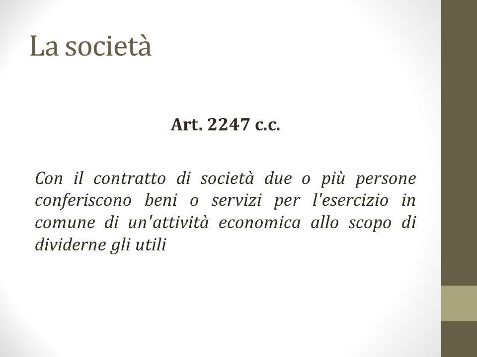 La società