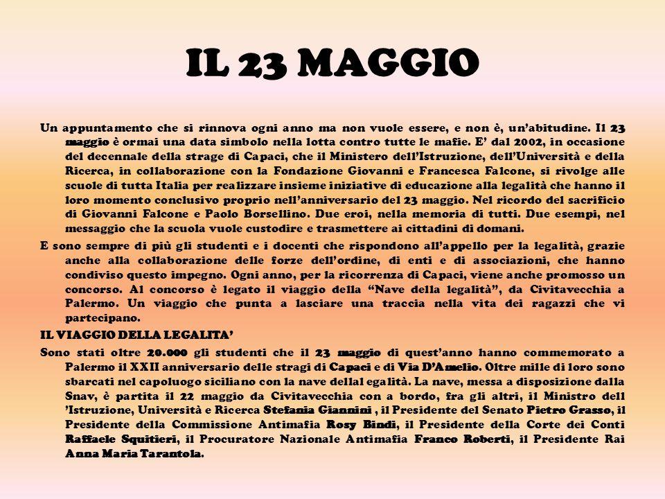 IL 23 MAGGIO