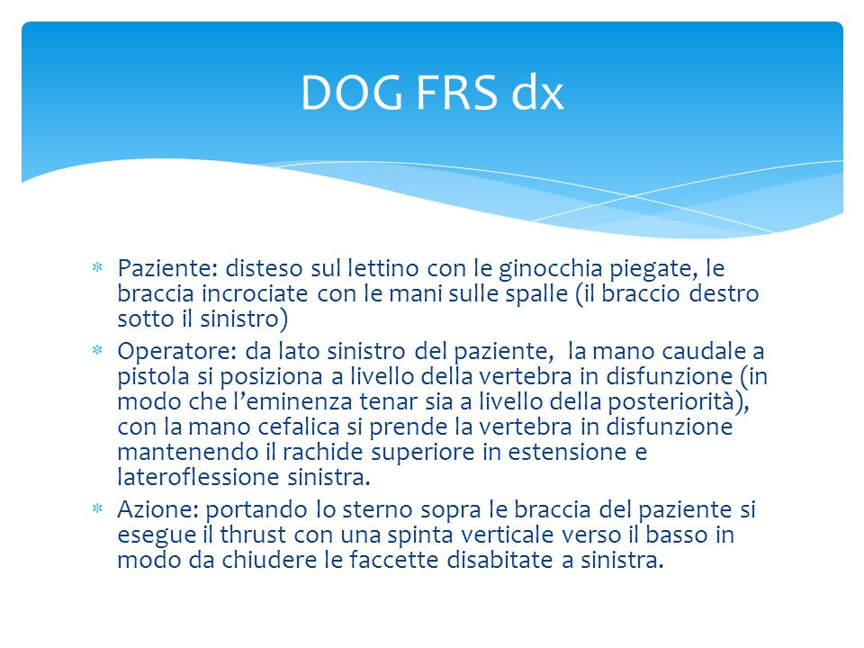 DOG FRS dx
