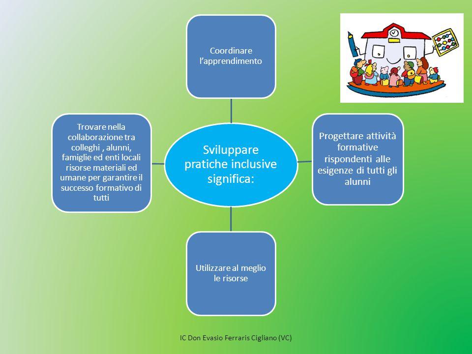 Sviluppare pratiche inclusive significa: