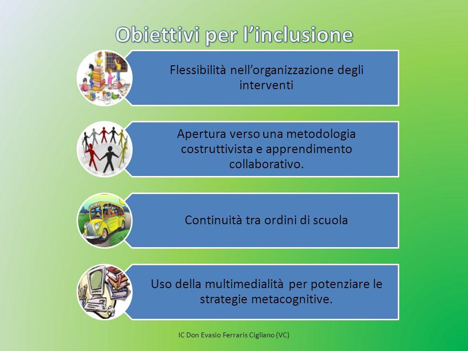 Obiettivi per l'inclusione