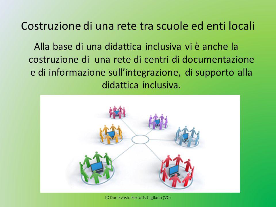 Costruzione di una rete tra scuole ed enti locali