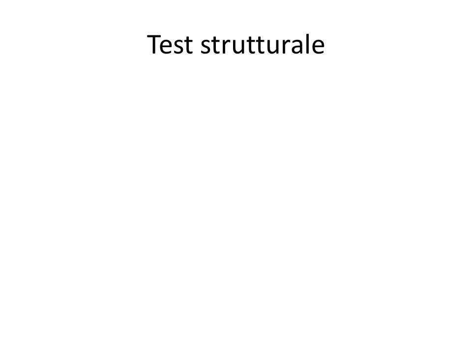 Test strutturale