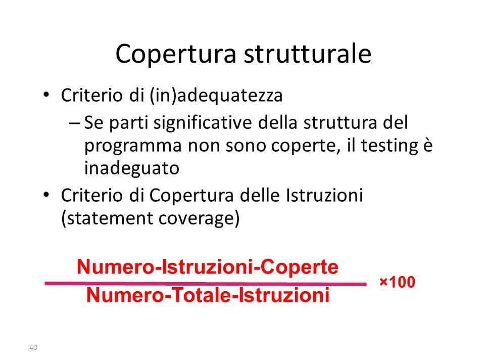 Copertura strutturale