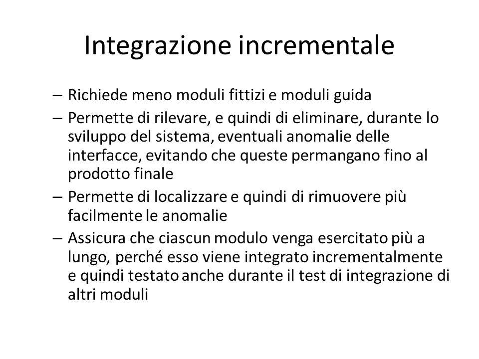 Integrazione incrementale