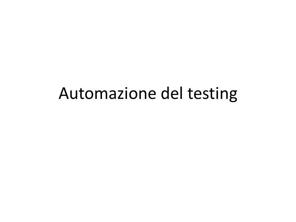 Automazione del testing