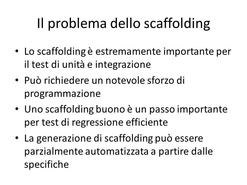 Il problema dello scaffolding