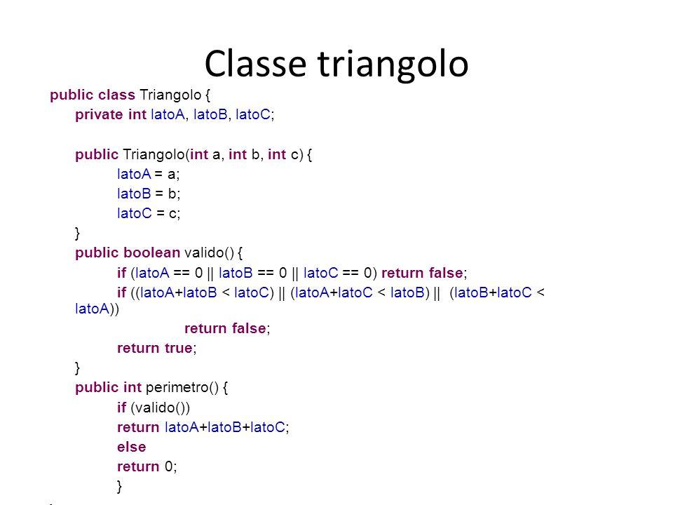 Classe triangolo