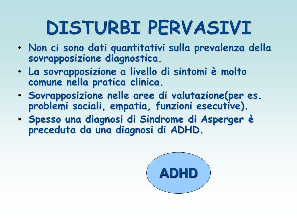 DISTURBI PERVASIVI ADHD