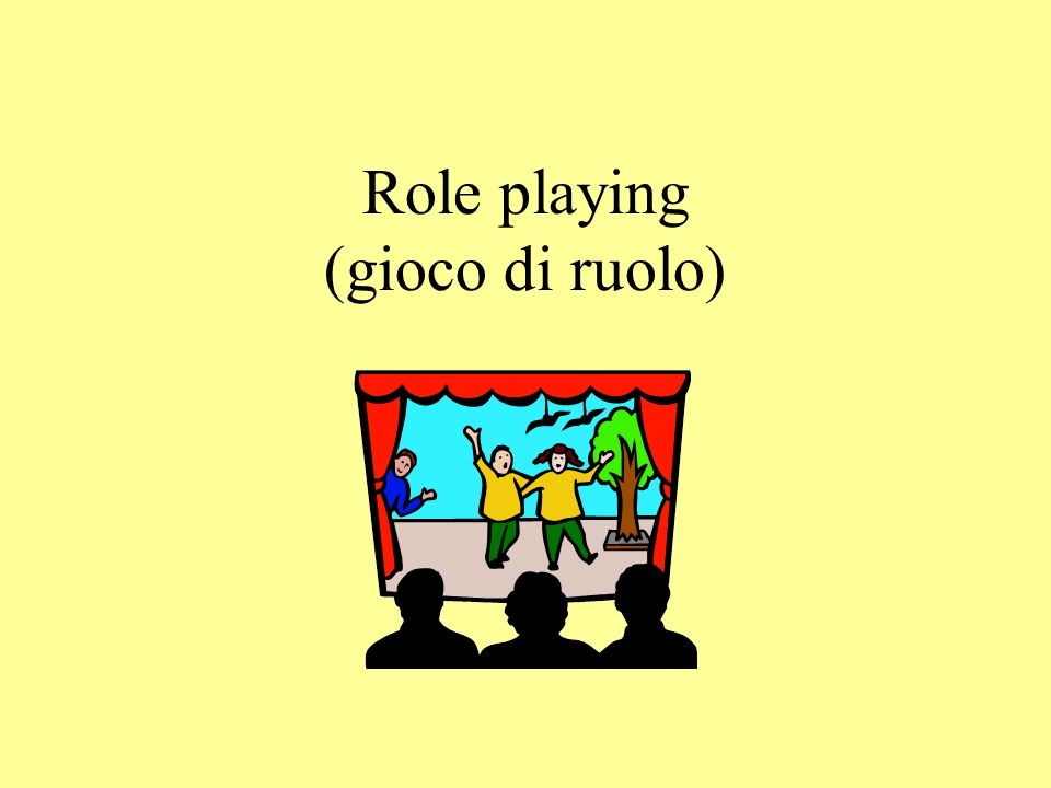 Role playing (gioco di ruolo)