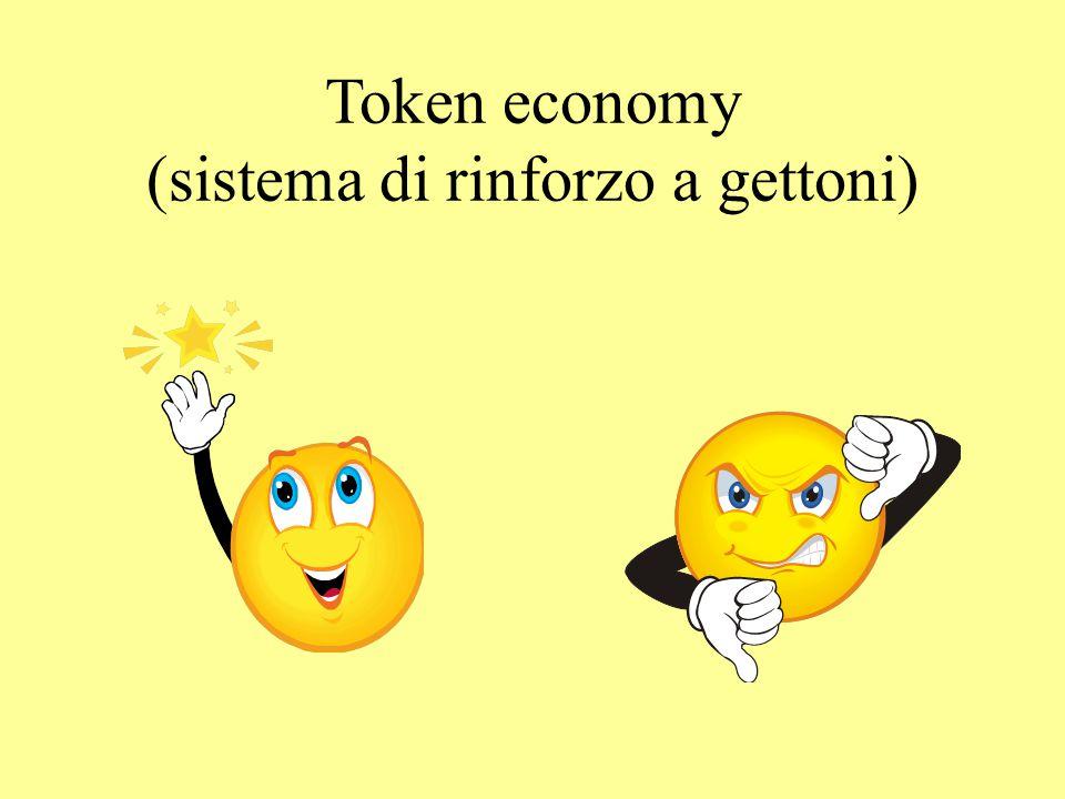 Token economy (sistema di rinforzo a gettoni)